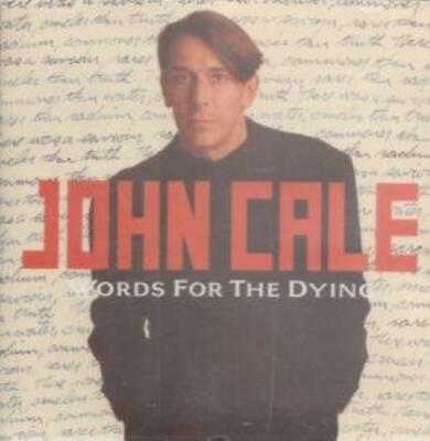 John Cale : WORDS FOR THE DYING CD UK LAND 1989 CD Expertly Refurbished Product