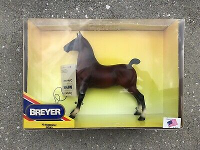 Retired New NIB Breyer Horse #496 Aristocrat Champion Hackney Hang Tag Bay