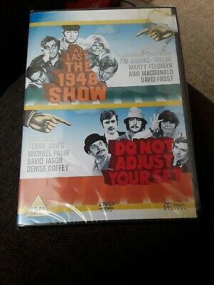 At Last The 1948 Show/Do Not Adjust Your Set (DVD, 2008, new and sealed freepost