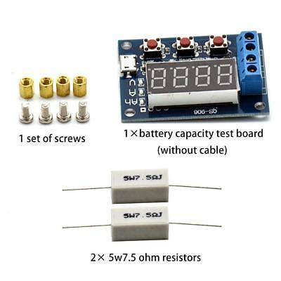 1.2-12V Battery Capacity Tester External Load Discharge Capacity Test 18650