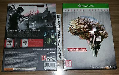 New Sealed The Evil Within Limited Edition with Bonus DLC PAL Microsoft XBox One