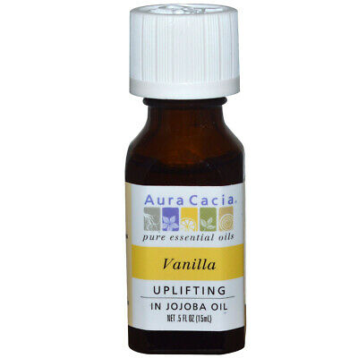 Aura Cacia - Pure Huile Essentielle Vanille Absolute Comforts The Emotions -