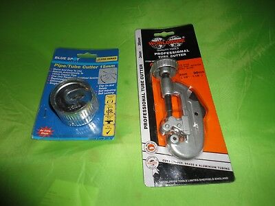 Two Brand New In Packaging Plumbing Pipe Cutting Tools Blue Spot & Professional