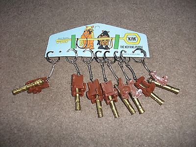 Job Lot Of  Ships Canons  Vintage Keyrings From Closed Down Shop  Still On Card
