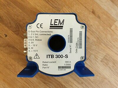 LEM ITB 300-2 High precision 300A fluxgate current transducer