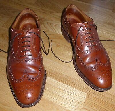 890275ac Church's Mens Export Grade Tan Brown Leather Charlston Wingtip Brogues Shoes  12