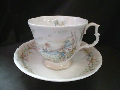 Royal Albert The Wind in the Willows Portlys Return cup and saucer   *** £8  ***