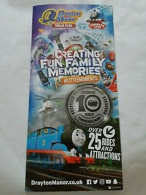 Drayton Manor Theme Park 15 Page Info Guide With Resort Map