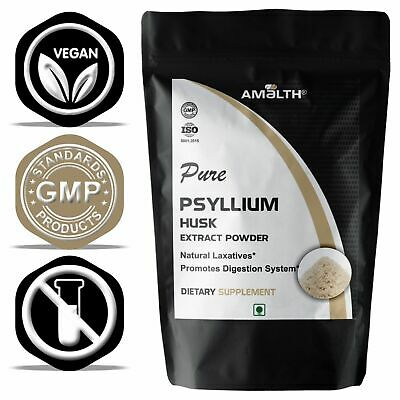 Pure Psyllium Husk Powder Fiber Organic Natural Colon DRTOXIFY NO FILLER