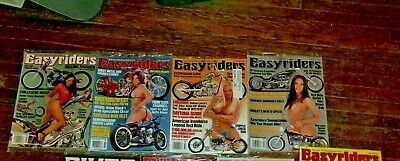 Vintage Year 2006 Easy Rider, 5 Issues All Sealed