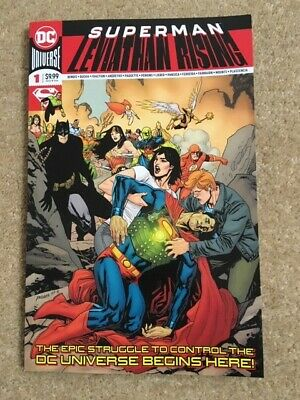 SUPERMAN LEVIATHAN RISING SPECIAL #1 (DC 2019 1st Print) Extra-sized Bendis
