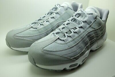 0883f479fa NEW Nike Men's Air Max 95 Essential Wolf Grey-White 749766-037 Shoes US