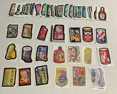 Wacky Packages Stickers 2005-53/55+Tattoos+Magnets+Some 2004-Total Of 104 Cards
