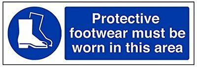 VSafety 41091AX-SProtective Footwear Must Be Worn In This Area Mandatory PPE Sig