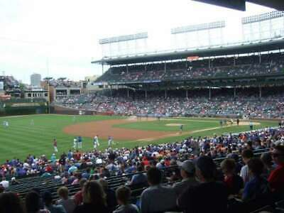 1-8 CHICAGO CUBS vs PITTSBURGH PIRATES SAT, JULY 13TH 1:05 PM SECT 207 ROW 21