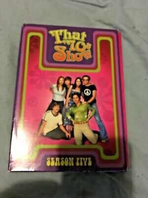 Opened That '70s Show The Complete Fifth Season DVD