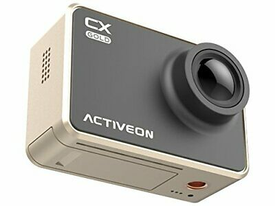 "ActiveOn GCB10W CX Gold Action Camera 2"" LCD with Waterproof Housing"