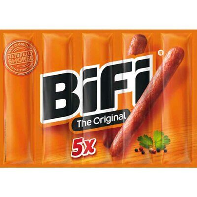 BiFi Mini-Salami 5er Multipack 125g MHD:1.8.19 Aktion