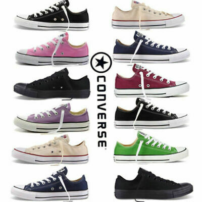 Womens Mens Classic Chuck Taylor Trainer Sneaker All Stars OX NEW sizes Shoes ES
