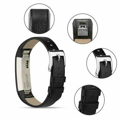 For Fitbit Alta / Alta HR Genuine Leather Watch Replacement Band Wrist Strap !R