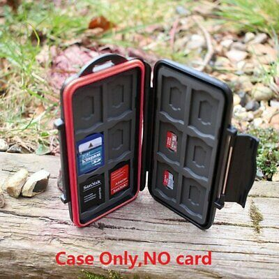 TF SD Memory Card Professional Waterproof Protection Box Holder Carrying Case
