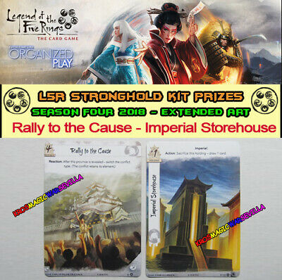 LEGEND OF THE FIVE RINGS L5R LCG - Rally to the Cause - Stronghold Kit 4 2018