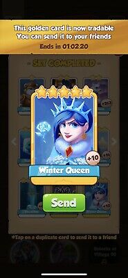 Winter Coinmaster Card - Trusted 🇬🇧 Seller - Fast Delivery