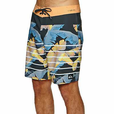 d2b3d33ef7343 Quiksilver Highline Island Time 19 Shorts Boardshorts - Tarmac All Sizes