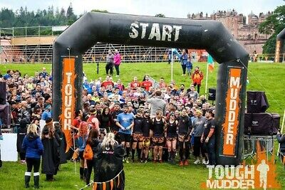 Tough Mudder Scotland 2019 Sunday 16th June - ticket will be emailed to you