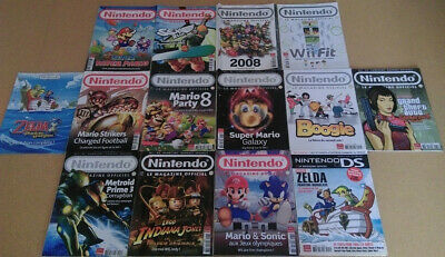 Lot Nintendo Le Magazine Officiel (Zelda Mario Metroid etc)