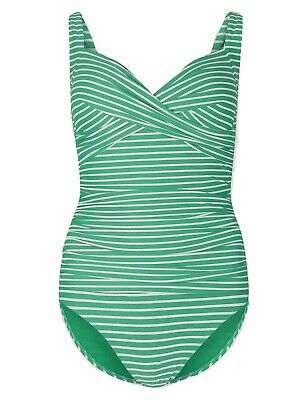 Ex Marks and Spencer Secret Slimming™ Non-Wired Plunge Swimsuit SS14