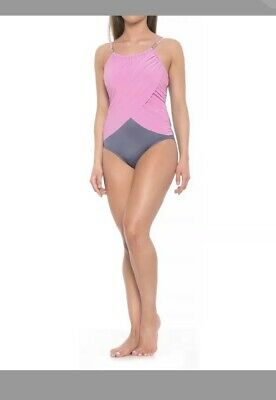 4b76ae0166 MAGICSUIT by Miraclesuit Lisa Solids Underwire Swimsuit Pink Size 14 $158