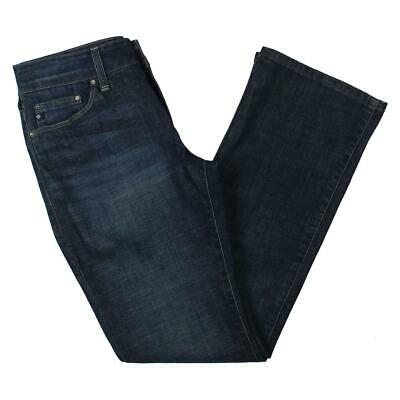 b77a51a7 Lee Platinum Label Womens Blue Denim Mid-Rise Bootcut Jeans 14 Medium BHFO  0024
