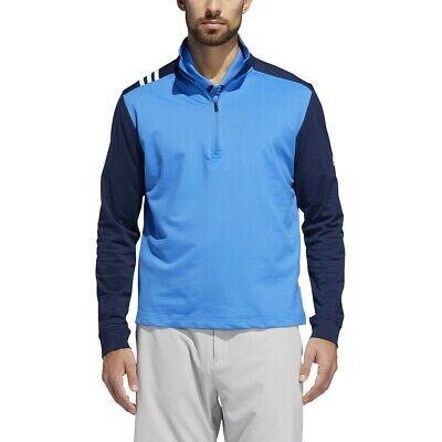 Adidas Golf 3-Stripe Advantage 1/4 Zip Pullover Layering Top - Pick Color & Size