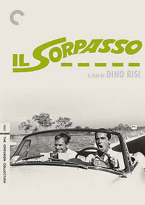 NEW! Il Sorpasso (DVD, 2014, 2-Disc Set, Criterion Collection)
