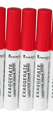 3X Rimmel Exaggerate Undercover Shadow Primer   Rrp £15  