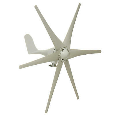 Wind Turbine Generator Horizontal 800W Peak 6 Blades Residential Home