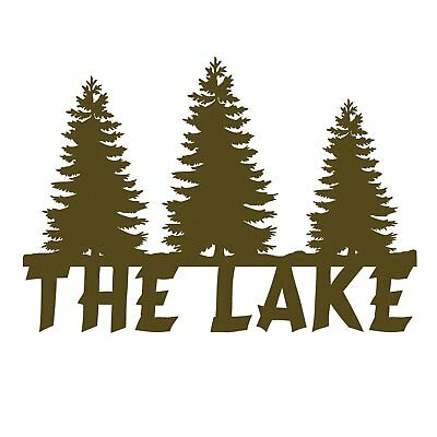 Ohio Wholesale The Lake Sign Artwork from Our Lodge Collection - NEW!