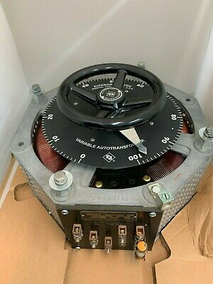 Powerstat 1256D Variable Autotransformer Superior Electic