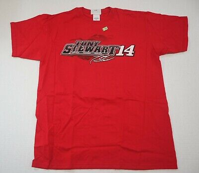 e82cad41 Tony Stewart #14 Red Office Depot/Old Spice Chase Authentic Mens T-Shirts