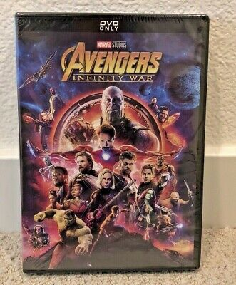 Avengers Infinity War DVD Marvel Studios Film Brand New Free Shipping and Return