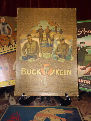 1920's Buck Skeins Garment Box with Cowboy Western Star Tom Mix! Great Graphic's