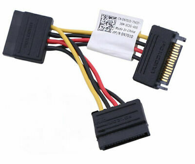 """Dell Foxconn SATA Power Connector Splitter Cable Adapter 3.75"""" 0N701D N701D"""