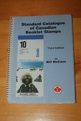 Weeda Literature Canadian Booklet Stamps, McCann, Third Edition, 1996 Unitrade