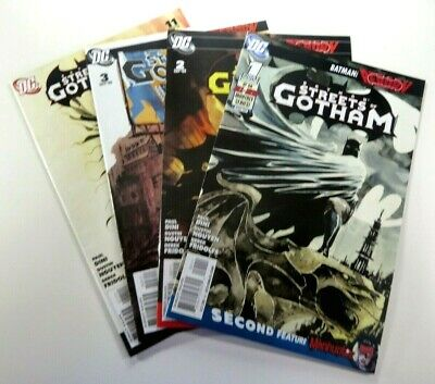 DC BATMAN: STREETS OF GOTHAM (2009) #1 2 3 11 LOT Set RUN VF/NM Ships FREE!