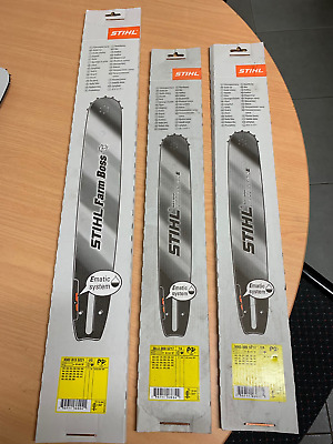 """Genuine Stihl Rollomatic  Bar - 16"""",18"""",20"""" select the one you want"""