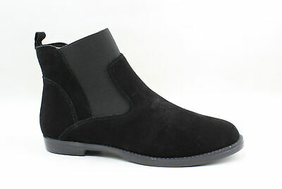 Bella Vita Womens Rayna Black Suede Ankle Boots Size 6.5 (159924)