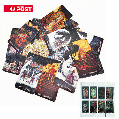 2019 NEW 78pcs Deck TAROT CARD DIY Tarot Board Game for Plating Prisma Visions