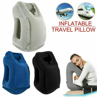 2019 Inflatable Air Cushion Neck Comfortable Support Pillow Travel Nap Pillow AU