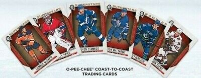 2018-19 OPC O-Pee-Chee Coast to Coast Base Superstars Rookies Legends SP U-Pick